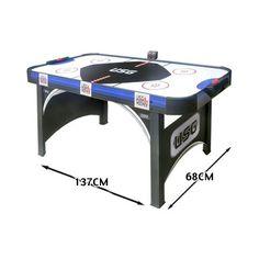 Promo Cdts, Table De Hockey Sur Pieds 137 X 68 Cm  - marque : Cdts Table de hockey sur pied CDTS avec air propulsé pour une meilleure glisse !... prix : 52.49 EUR €  chez Auchan Jeux et Jouets #Cdts #AuchanJeuxetJouets