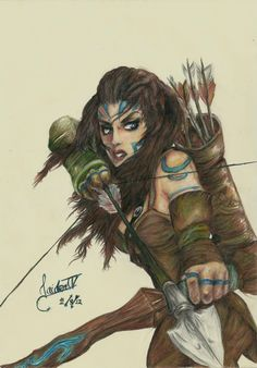"Warriors: ""Woad Ashe,"" by JaidenIV, at deviantART. Saved for leather arm bands and blue paint. 3d Fantasy, Fantasy Makeup, Character Inspiration, Character Art, Character Design, Tribal Warrior, Warrior Women, Celtic Warriors, Female Warriors"