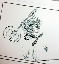 About to get the ax. This is I HATE FAIRYLAND week! #ihatefairyland #imagecomics