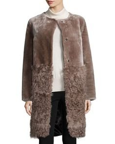 Lamb Shearling Stroller by Belle Fare at Neiman Marcus.