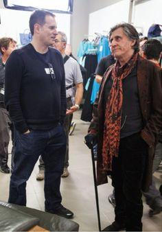 Gabriel Byrne on Vampire Academy Movie Set