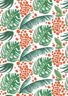 Jungle by Ashley Le Quere, via Behance