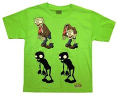 Plants Vs Zombies Zombie Lineup Popcap Video Game Youth T-Shirt Tee Halloween Toys, Halloween Ideas, Kids Sand, Vintage Video Games, Neo Geo, Zombie Party, Plants Vs Zombies, Niece And Nephew, Tee Shirts