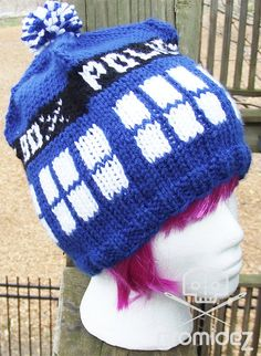 Doctor Who TARDIS Hat by Gromidez