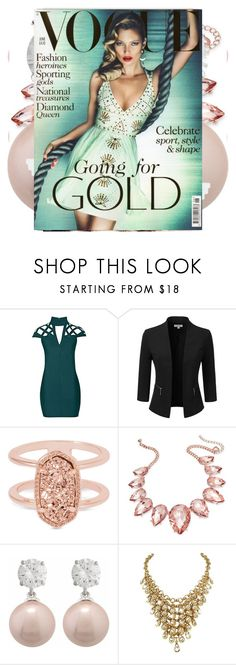 """IZZY BELLA"" by isabel-esparza-1 ❤ liked on Polyvore featuring Rare London, Doublju, Kendra Scott, Thalia Sodi, Jankuo and JustFab"