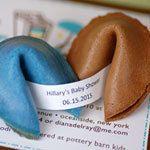 Custom fortune cookies...