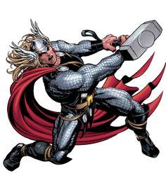 Thor by Mike Deodato, Jr.