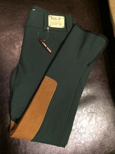 Tailored Sportsman Lowrise Front Zip Trophy Hunter Breeches - Two tone