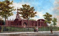 The Remains of Birkenhead Priory, Wirral Art Uk, Liverpool, Memories, Explore, Places, Painting, Memoirs, Souvenirs, Painting Art