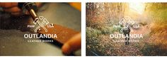 Outlandia Leatherworks Brand Identity on Behance