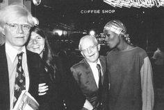 Andy Warhol, Reina Sacks, Truman Capote e Grace Jones