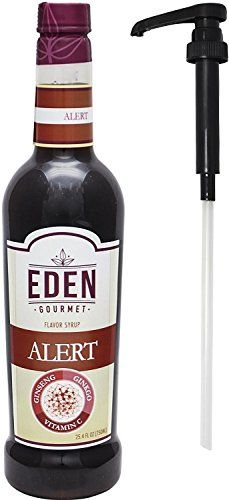Eden Gourmet Alert Functional Syrup 750 ml bottle Pump Included -- Check this awesome product by going to the link at the image. Raspberry Syrup, Gourmet Cookies, Coffee Creamer, Bubble Tea, Chocolate Covered, Milkshake, Gourmet Recipes, Lemonade, Starbucks