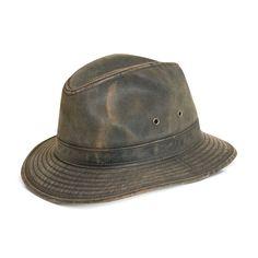 Men's DPC Weathered Safari Hat, Size: Medium, Brown