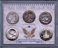 Historic Society Half dollar collection coin set