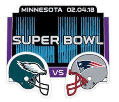 ffe75ed92 Super Bowl LII (52) Eagles vs. Patriots Dueling Pin