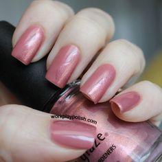 Zoya Addison Beigey Mauve With Light Shimmer Nail Polish Stash
