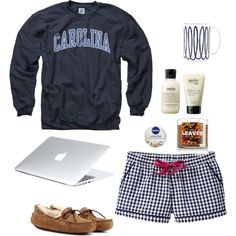 Goodnight by alainaswilliams on Polyvore featuring Old Navy, UGG Australia, philosophy, Nivea and Kate Spade