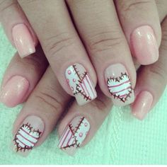 I have an idea this year for hallween I can be a stylish Frankenstein and paint that for my nails!!!!!❤️