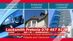 Highest qualified Locksmith in and around Pretoria and Centurion, open and replace locks and car key programming and ignition fix and combination charging.