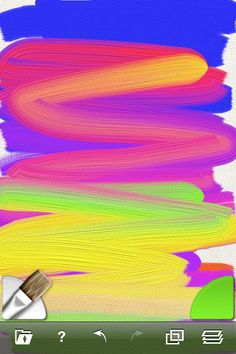 Art Rage. Express your artistic side with easy to use painting and drawing tools that work just like the real thing!  #art #app