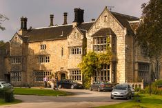 Monk Fryston Hall. North Yorkshire wedding venue from www.TheNuptial.co.uk.