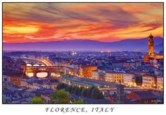 Photograph Colors of Florence by Dmitri Fomin on 500px