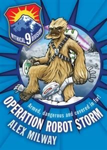 Kirkus Review of Operation Robot Storm as seen here https://n2252.myubam.com/c/114/reading-series-fiction?pagesize=60&pagenumber=2