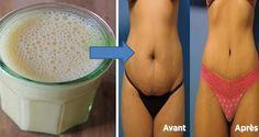 Cette boisson fantastique brûle rapidement la graisse du ventre et aide à perdre du poids.