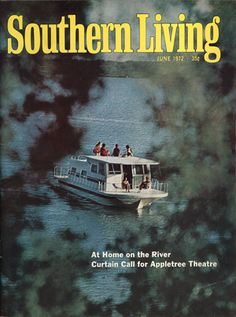 June 1972 | At Home on the River--wonderful memories--our boat looked just like this!!