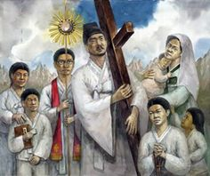St. Franciscus Ch'oe Kyong-Hwan, martyr, pray for us.  Feast day September 12.