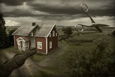 Deep cuts - Erik Johansson surreal photographer