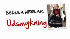 BERNINA Webinar: Udsmykning af børnekjole