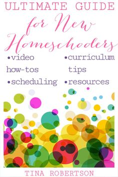 The Ultimate Guide for New Homeschoolers by Tina Robertson. A homeschool mom of 20 years experience AND who taught workshops for years to new homeschoolers. Curriculum Planner, Homeschool Curriculum, Homeschooling, A Beka, Kinesthetic Learning, High School Hacks, Good Night Moon, 20 Years