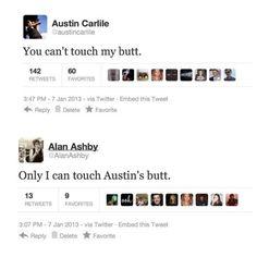 Austin Carlile & Alan Ashby - Hahahaha! This made my day