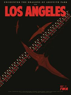 Cool Art: 'Los Angeles' Part of Fernando Reza's 'Mythic Beasts' Travel Series