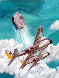 April 18, 1966     Two A-6A Intruders from the Kitty Hawk hit the Uongbi power plant near Haiphong, knocking out one-third of North Vietnam's electric power production. The Rolling Thunder route packages are now redesignated as six areas: the coastal regions are permanently assigned to the US Navy while the Air Force covers the interior.