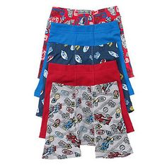 Hanes Toddler Boys Printed Boxer Briefs with Comfort Flex Waistband 5-Pack TB75P5