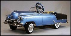 Auto de juguete de 1950