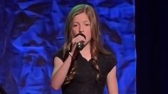 "Child Prodigy Will Send Goosebumps Down Your Spine When She Sings ""Amazing Grace"" Lexi Walker, Child Prodigy, Kids Singing, Beautiful Songs, 13 Year Olds, Inspirational Videos, Amazing Grace, Make You Smile, Concert"