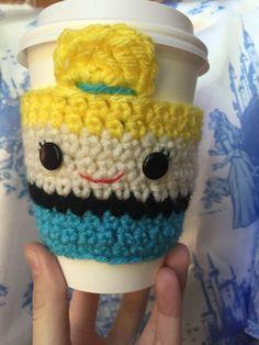 e7e84a7e9c2c Cinderella Crochet Coffee Cozy