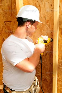 Teds Woodworking® - Woodworking Plans & Projects With Videos - Custom Carpentry — TedsWoodworking Build A Wall, Hammer Drill, Construction Worker, Woodworking Bench, Melbourne, Building A House, Author, Search, Searching
