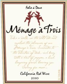 "Menage a Trois Red 2012 paired with Mabel King, ""No Bad News"" and Jaron and the Long Road to Love, ""Pray for You"" at Wine and Music pairing, 1/18/2014"