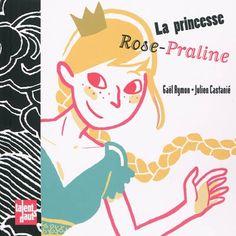 Prisonnière de sa mère, Rose-Praline s'échappe en glissant le long de sa tresse. En chemin, elle rencontre des personnages : les sept nains qui veulent lui faire faire le ménage, une châtelaine qui glisse un petit pois sous son matelas... Mais Rose-Praline ne se laisse pas faire et choisit son destin.