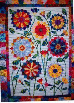 Flower Applique Quilt Patterns | Big Blooms Fabulous Big Flowers Applique Quilt Pattern | eBay