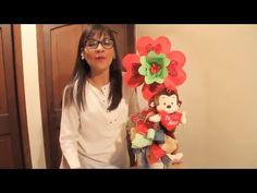 Arreglo amor y amistad..Chango con flor - YouTube