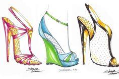 more shoe sketches