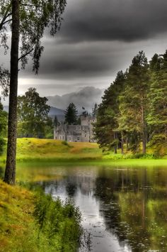 Invercauld House . Scotland