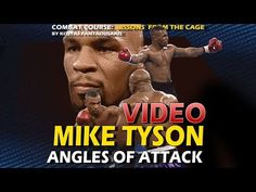 Angles of Attack & Southpaw Attacks Mike Tyson Workout, Mike Tyson Training, Boxing Training Workout, Kickboxing Workout, Mike Tyson Video, Boxing Basics, Boxing Techniques, Boxing Drills, Self Defense Moves
