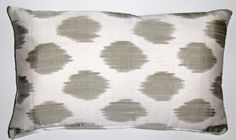 ikat pillow. www.withlovefromkat.com