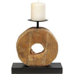 Διακοσμητικά Είδη :: Κηροπήγια :: Κηροπήγιο Wooden Rings Single